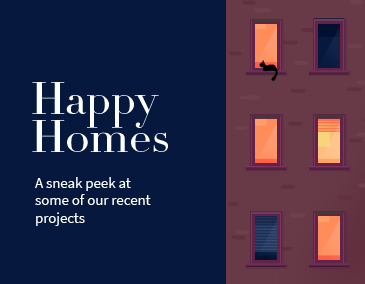 Happy Home Image (Text for Mobile)
