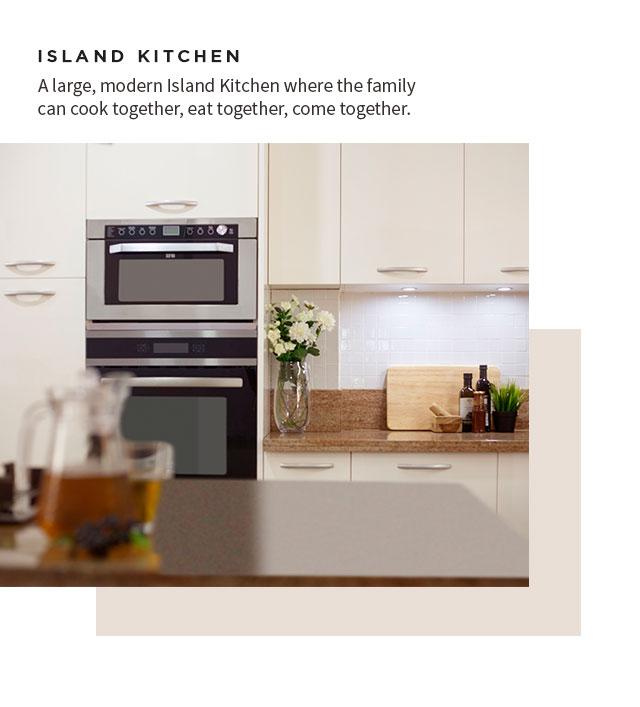 Island Kitchen Finished Projects - IFB Modular Kitchen