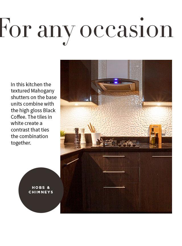 For any ocassion   Hobs & Chimneys   IFB Kitchen Appliances - IFB Modular Kitchen