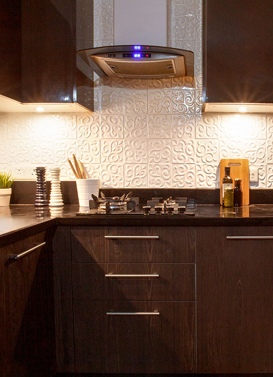 For Every Ocassion | Finished Modular Kitchen Project Sample - IFB Modular Kitchen