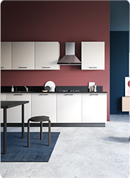 Cappuccino Tile Image | Kitchen Collection - IFB Modular Kitchen