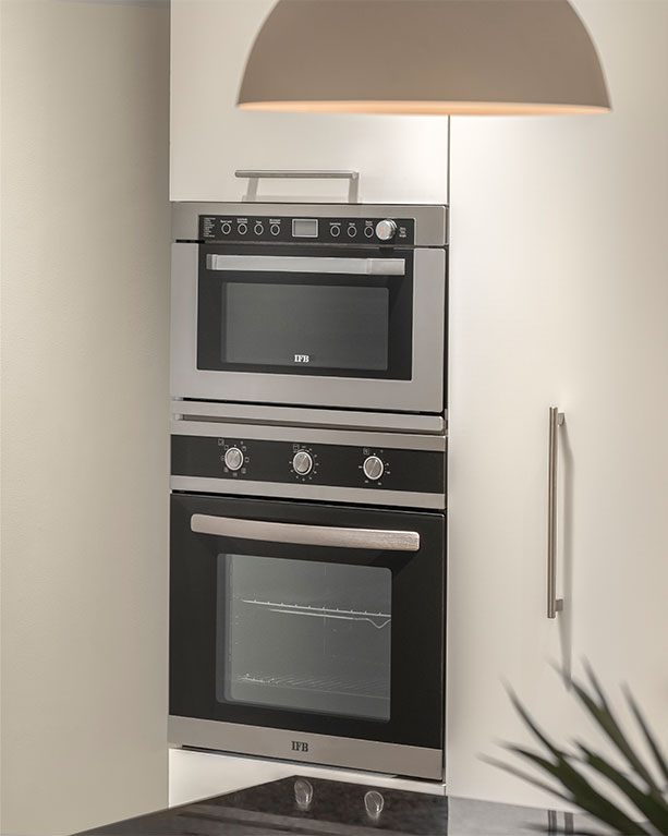 IFB Built in Kitchen Appliances Microwave and Oven | IFB Kitchen Appliances - IFB Modular Kitchen