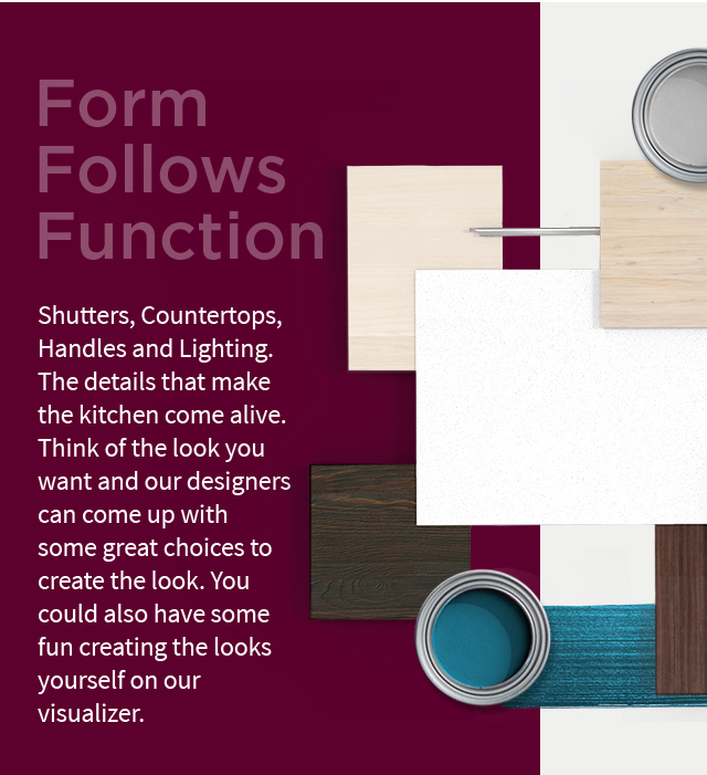 Shutters, Countertops, Handles and Lighting (Mobile)   IFB Finishes - IFB Modular Kitchen