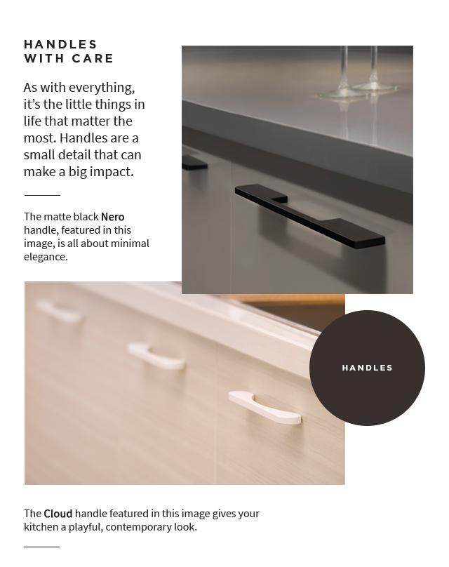 Handles for Modular Kitchen - IFB Modular Kitchen