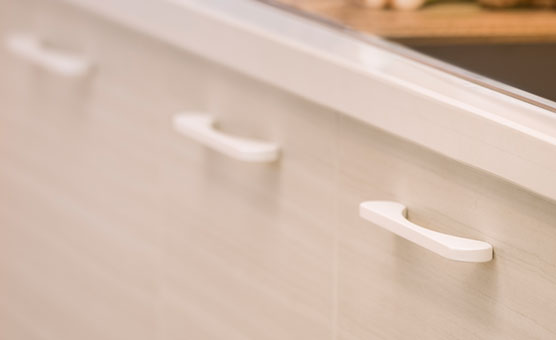 Handles for Modular Kitchen | Finished Porjects - IFB Modular Kitchen