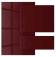 Berry Rush - Acrylic faced MDF | Kitchen Shutter Material - IFB Modular Kitchen