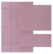Candy Floss - Acrylic faced MDF   Kitchen Shutter Material - IFB Modular Kitchen