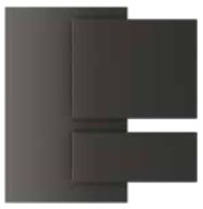Charcoal - Laminate faced BWP ply  Kitchen Shutter Material - IFB Modular Kitchen