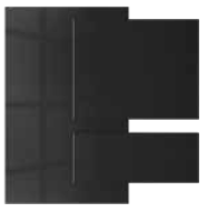 Starlight - Acrylic faced MDF | Kitchen Shutter Material - IFB Modular Kitchen