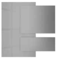 Sterling Silver - Acrylic faced MDF | Kitchen Shutter Material - IFB Modular Kitchen