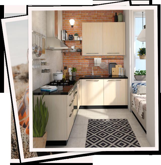 Bohemian Rhapsody | Kitchen Collection (Mobile) - IFB Modular Kitchen