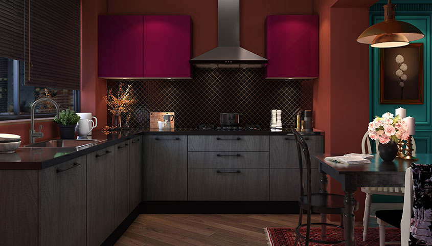 The Eclectic | Kitchen Collection - IFB Modular Kitchen