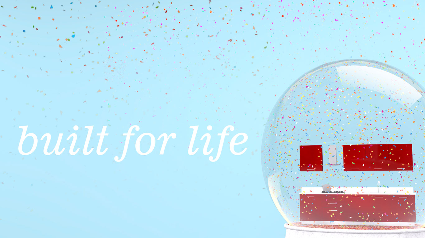 Warranty Page Banner has text Built for Life